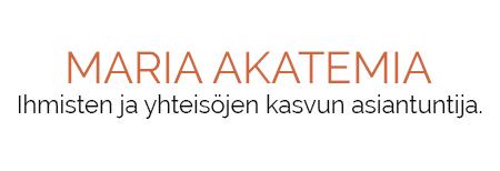 Maria Akatemia | Ihmisten ja yhteisöjen kasvun asiantuntija Logo